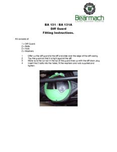 BA 121 – Diff Guard