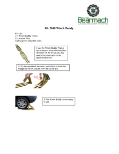 BA 2680 – Winch Buddy (Pair)