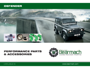 Defender PERFORMANCE PARTS and ACCESSORIES