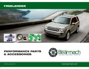 Freelander PERFORMANCE PARTS and ACCESSORIES