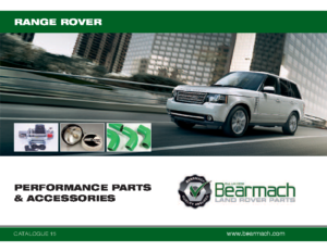 Range Rover PERFORMANCE PARTS and ACCESSORIES